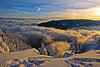 Somewhere over the rainbow...The Mont Blanc , the sea of clouds , a  view from Les Rochers de Tablettes , Canton of Neuchâtel. Sunset of 12 12 12 . No. 1607. (Izakigur) Tags: schnee trees winter sunset orange snow alps tree love topf25 fog clouds alpes liberty hope schweiz switzerland twilight flickr suisse swiss feel free topf300 jura neige alpen mylife neuchatel montblanc lepetitprince adel samsmith romandie skyfall nikond700 izakigur armandamar