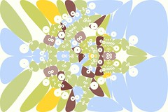 Polygon Party 01 (Leonardo Solaas) Tags: abstract geometric pattern drawing computergenerated symmetry generative tessellation polygons voronoi actionscript algorithmic as3