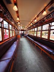TTC 2424 Interior (pic_snapper) Tags: ttc railway streetcar halton