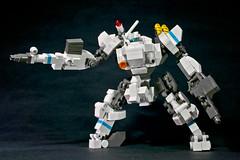 Type 91 SG Shunrai (legoricola) Tags: toy robot lego scifi mech robotech