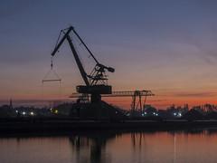 Hafen Hardenberg heute Morgen