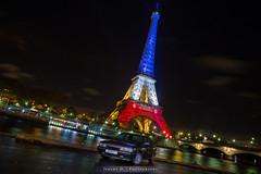 Pray For Paris - R21 Turbo (JDPhotoIDF) Tags: november paris tower sport canon eos for novembre tour 21 pray eiffel renault turbo 6d 2l 2015 renaultsport r21 prayforparis
