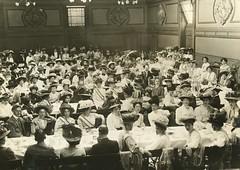 Prisoners' Breakfast in Queen's Hall, 1908.