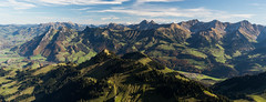 La Gruyre (trisente) Tags: mountain green landscape fribourg pralpes lagruyre
