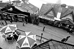 Way to Mall | Darjeeling (dhurjatic) Tags: life people white black places daily and bengal darjeeling