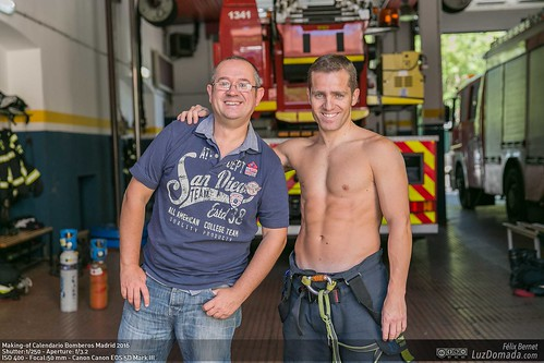 Making-of Calendario Bomberos Madrid 2016