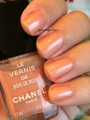 Chanel Bois de Rose (purple yellow) Tags: rose de 4 nail polish boise chanel