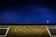 Stars in the backyard | Scunthorpe (Gravydas L.) Tags: uk longexposure england sky house wall night canon stars backyard unitedkingdom kitlens scunthorpe 1000d