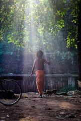 DSC_1075-4 (sujoychakraborty) Tags: morning light ray walk monk enlightenment salvation sunbeam sunray sadhu