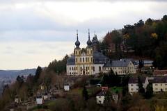 """Kppele"" Church on Nikolausberg in Wrzburg (Sokleine) Tags: heritage germany bayern deutschland bavaria franconia historic allemagne wrzburg kloster clotre kapuziner bavire capucins"