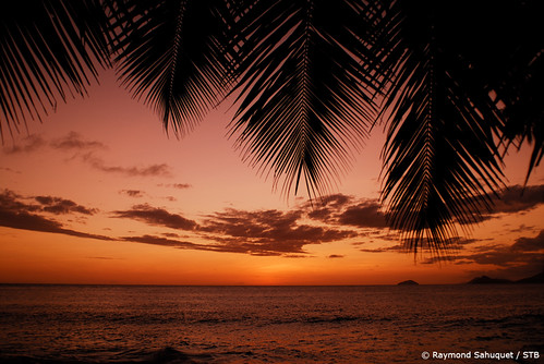 Sunset Anse-Soliel