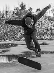 Tre Burke (codyforrester) Tags: skateboarding 360 flip skate swag