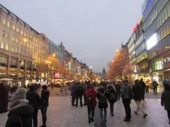 Another Christmas market street (wallygrom) Tags: czechrepublic prague václavskénáměstí wenceslassquare