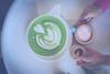 Huge #Matchalatte from Kit Coffee !? (RayStudio) Tags: raystduio 161224 coffee matchalatte green latteart kitcoffee newportbeach sonya7 batis25