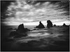 B&W Conque, Agde . X20 . (AKromatiCK) Tags: seascape landscape méditerranée mer sea x20 nb bw noiretblanc blackandwhite languedocroussillon hérault france fujifilm fujifilmx20 monochromatic bnw monotone monochrome noir bnwphotography blackandwhitephoto bwphoto bwphotography bn fujifilmxseries fujix20 agde longexposure hoya hoyand400 nd400
