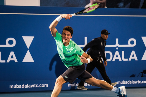 "Milos Raonic • <a style=""font-size:0.8em;"" href=""http://www.flickr.com/photos/125636673@N08/31180616643/"" target=""_blank"">View on Flickr</a>"
