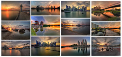 Sunset collection 2016 (Ken Goh thanks for 2 Million views) Tags: sunset collection 2016 golden sun blue sky skyline reflection water moving clouds smooth silhouette pentax k1 k3 k5iis sigma 1020