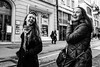 """""""There is nothing in the world so irresistibly contagious as laughter and good humor.""""  Charles Dickens (Mustafa Selcuk) Tags: moods moody turkey istanbul xpro2 fujifilm fujifilmtr monochromatic monochrome bw bnw blackandwhite streetphotography streetphotographer streetshooter street happiness happy smile laugh laughter"""