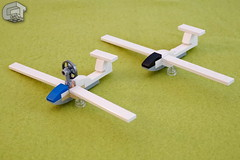 Motorglider (microairliner) Tags: lego moc airplane glider motorglider micro microscale model car afol