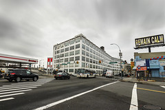 """""""Remain Calm"""" (36D VIEW) Tags: canon 36dview mirrorless samyang 14mm buildings sky queens street"""