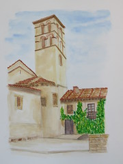 Pedraza (Luis F Nobre) Tags: spain segovia pedraza church