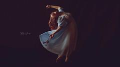 _MG_3304 (kim.yanick) Tags: approved keys dancer woman portrait emotive dreamy bluedress nightgown redhair dancing movement