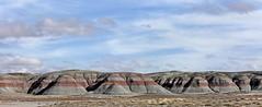 Blue Mesa Member of the Chinle Formation (Ron Wolf) Tags: bluemesamember chinleformation earthscience geology geomorphology mesozoic nationalpark petrifiedforestnationalpark petrology triassic badlands erosion mudstone nature rock sandstone arizona