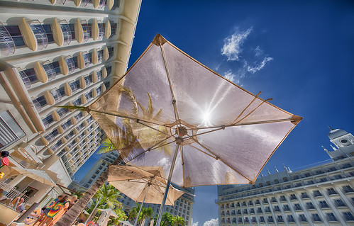 RIU Palace Aruba Downside up