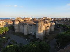 The fortress in the city (Lorenzo Bl) Tags: lorenzo blangiardi lydser firenze toscana italy art sculpture lucca comics 2016 catania ursino castello sicily castle