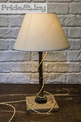 Lamp with shade Pride&Joy (PrideandJoy.Workshop) Tags: prideandjoy prideandjoyworkshop handmade home design loft industrial edison lamp clock gift decor interior