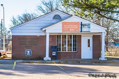 US Post Office | Turrell, Arkansas 72384 (M.J. Scanlon) Tags: small town little post office united states rural building structure scanlon canon 7d wow service mail package parcel box tiny local 72384 turrell arkansas