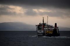 MV Hebridean Isles heads across the Clyde to a gloomy Arran (Russardo) Tags: cal mac calmac caledonian macbrayne ferry ardrossan