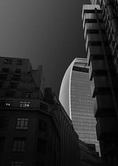 Shadows (Neil Burnell) Tags: mono london walkie talkie low key wwwneilburnellcom