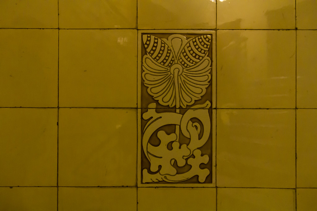 Jugendstil (michael_hamburg69) Tags: Hamburg Germany Deutschland Stairs  Ballindamm1415 Kontorhaus 1902 Architekten Rambatzjolasse Fliesen