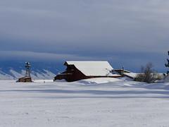 After The Storm (Armen Woosley) Tags: barn barns oldbarns snowybarn