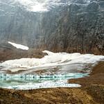 The foot of Angel Glacier thumbnail