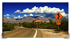 """""""Passing Clouds"""" (""""SnapDecisions"""" photography) Tags: tucson mountains clouds arizona santacatalina iphone"""