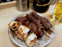 Assorted of Chicken skewers from Ise @ Kanda (Fuyuhiko) Tags: assorted chicken skewers from ise kanda shot 東京 tokyo