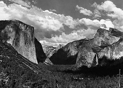 Ansel Adams (Peer Into The Past) Tags: peerintothepast blackandwhitephotography vintage valley 1938 history anseladams