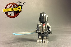 Zer0 Redone (TheBrickBrewer) Tags: lego borderlands 2 custom painted updated paint