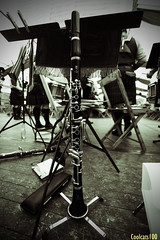 Clarinet (Coolcats100) Tags: clarinet music people black bw white 2016 july germany deutschland wessex military band coolcats100 canon canon650d 650d sigma