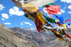 Prayer Flags, Himalayas, India (boostedstockphotography) Tags: prayer flags himalayas india ladakh mountains views beautiful art create inspire wind colors colorful