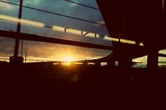 TGIF! (Georgie_grrl) Tags: morningcommute ttc fromthesubway sunrise sun clouds light overpass toronto ontario morning tgif