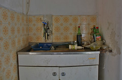 residential building PD01 # 7 (jourbexia) Tags: decay decayed decaying derelict dereliction abandoned disused empty italy italian europe european urbex urbanexploration urban exploration building buildings rural ruralexploration architecture house houses kitchen sink sinks cinzano