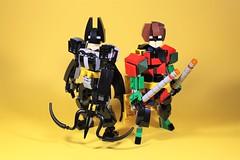 06_Bat_Cave (bbchai) Tags: lego batman batcave robin poster movie mobile segway