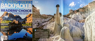 March issue of Backpacker Magazine