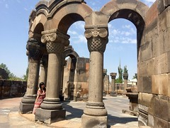 IMG_3987 (travelustful) Tags: armenia zvartnots church ruins yerevan echmiadzin cathedral