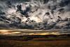 Cloudy Sky (Kevin_Jeffries) Tags: clouds dark landscape hills kevinjeffries nikon nikkor d7100 rural sky summer waitaki newzealand evening sunset digital nature natura flickrsbest greenscene