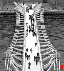 Phot.London.Bridge.Millennium.BW.01.041325.4928.jpg (frankartculinary) Tags: frankartculinaryyahoode nikon d880 d300 d200 f2 f3 f4 coolpix ciudad ville citta catedral cathedral kathedrale dom cathédrale food london londres londra greatbritain england inglaterra angleterre inghilterra chinatown downingstreet thames themse londontower towerbridge ferriswheel londoneye bromptonroad stjamesspark trafalgarsquare victoriamemorial thebluesandroyals queenslifeguard horseguards grenadierguards welshguards changingtheguard buckinghampalace grenadier guards butchery metzgerei carneceria charcuterie porsche918 spyder theritzlondon pub crimea millenniumbridge