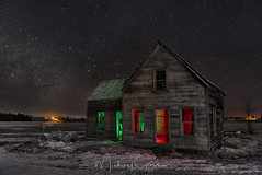 This Old House III (NikonDigifan) Tags: milkyway astrophotography abandoned rustic rural winter snow easternwashington photopills niksoftware colorefexpro nikond750 tamron tamronlenses tamron1530 mikegassphotography